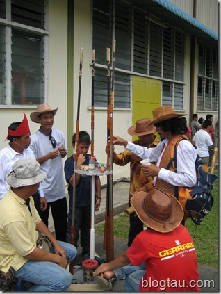 Lun Bawang Blowpipes