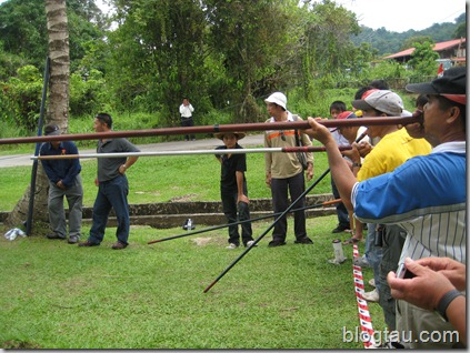 Lun Bawang Blowpipe Competition