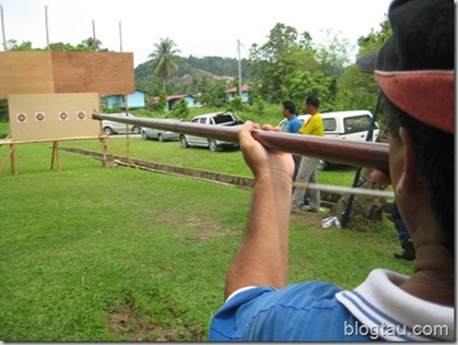 Blowpipe in Action