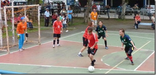 Pesta Lun Bawang 2010 - Female Futsal