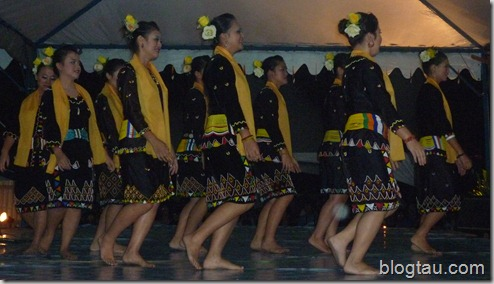 Cultural Night 1 - Lun Bawang Dancers