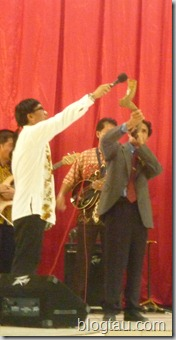 Ps Pengiran Gugkang Blowing the Horn