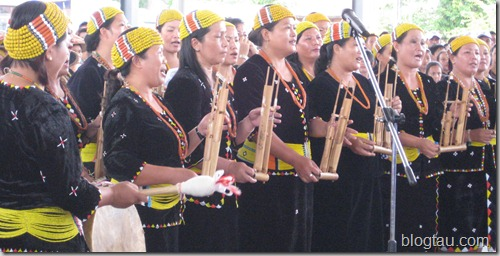 Lun Bawang Festival 2011 Singing Performance