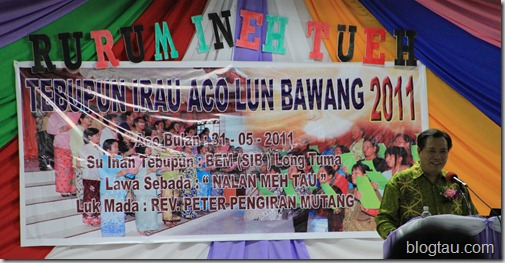 Pesta Irau Aco Lun Bawang 2011 Church Service