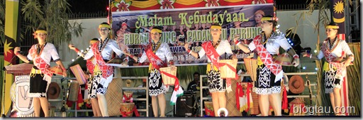 Pesta Lun Bawang 2011 Cultural Night Traditional Dance