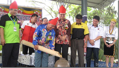 Pesta Lun Bawang  2011 Official Opening Ceremony