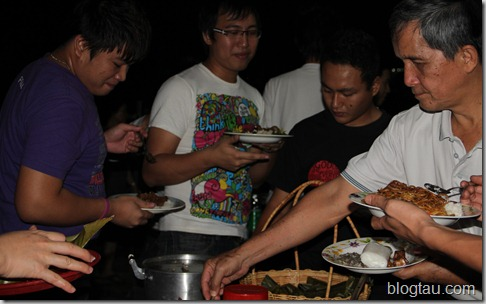 Lun Bawang Kuching Welcoming Gathering Dinner for Students