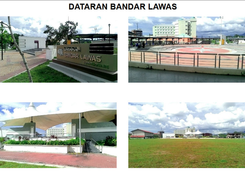 Lun Bawang Festival 2013 Location - Lawas Townsquare