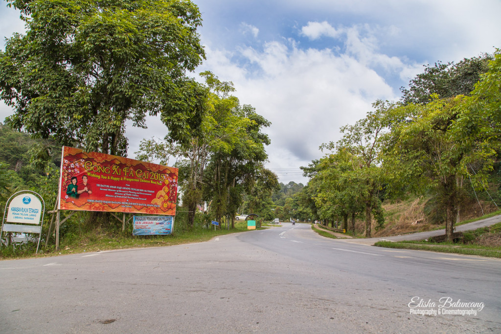 Route to Lawas Town